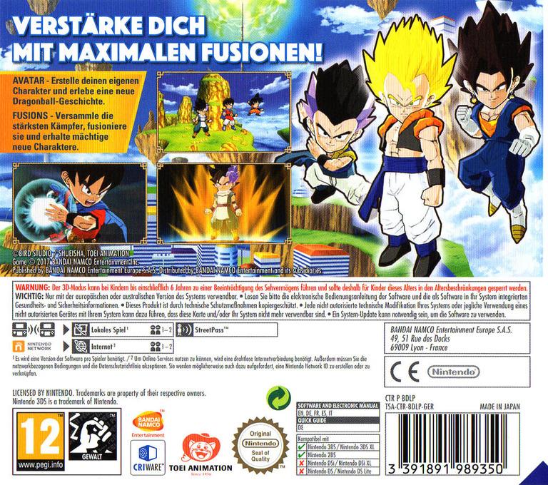 3DS backHQ (BDLP)