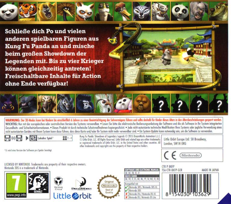 3DS backHQ (BKFP)