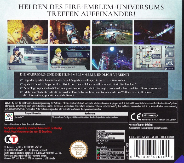 Fire Emblem Warriors 3DS backHQ (CFMP)