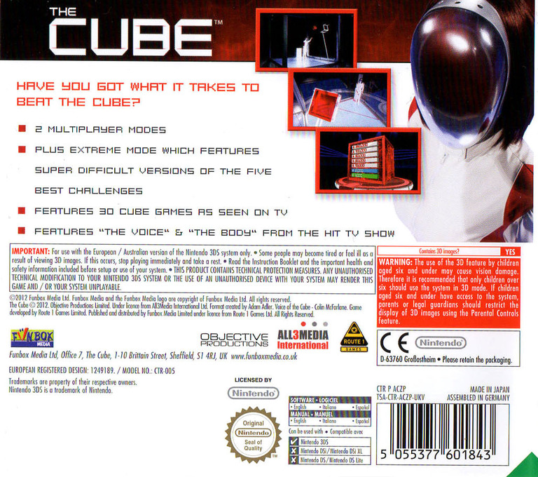 The Cube 3DS backHQ (ACZP)