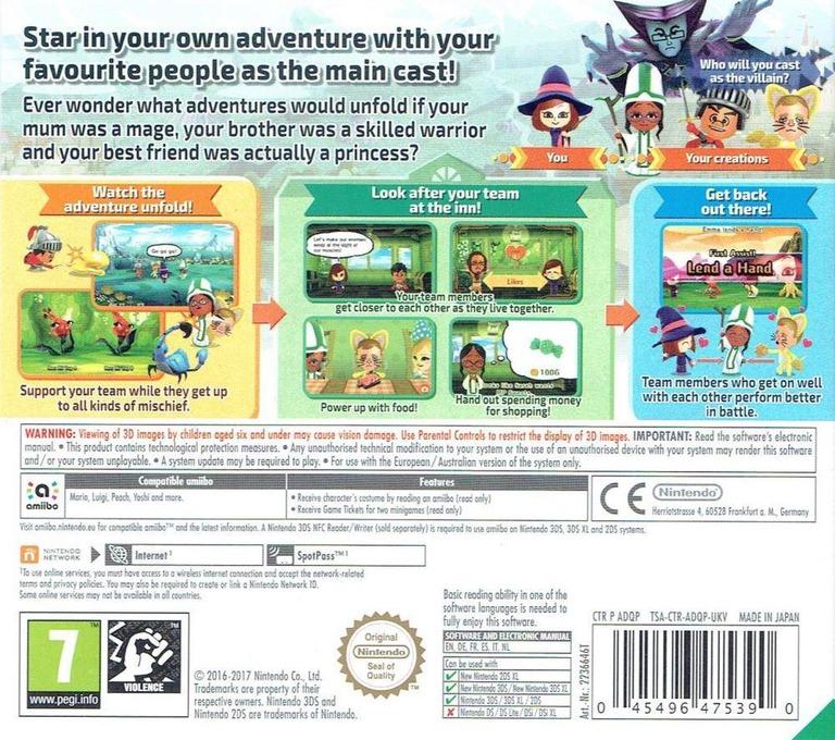 Miitopia 3DS backHQ (ADQP)