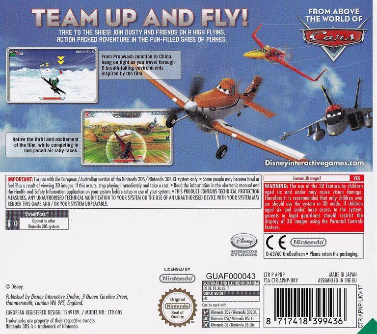 Disney Planes 3DS backHQ (APNP)