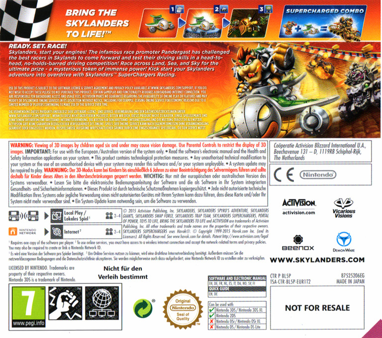 Skylanders SuperChargers Racing 3DS backHQ (BL5P)