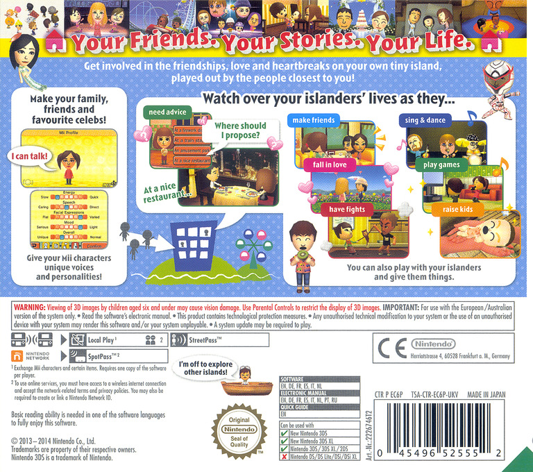 Tomodachi Life 3DS backHQ (EC6P)