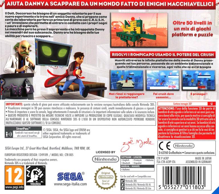 3DS backHQ (ACRP)