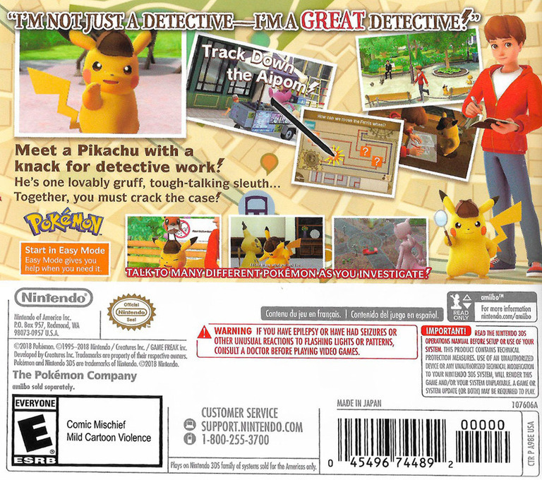 Detective Pikachu 3DS backHQ (A98A)
