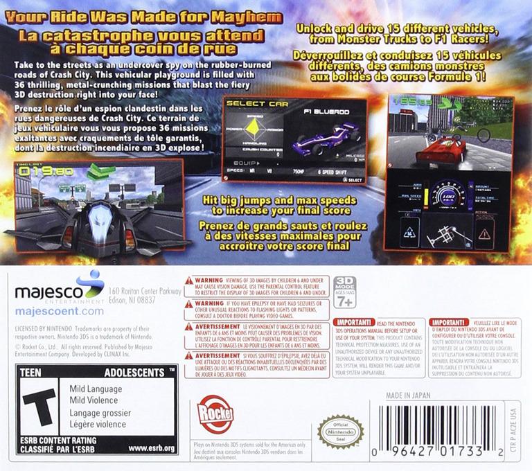Crash City Mayhem 3DS backHQ (AC2E)