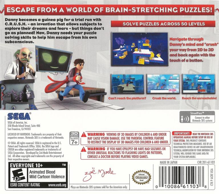 Crush 3D 3DS backHQ (ACRE)