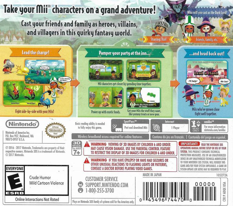 Miitopia 3DS backHQ (ADQE)