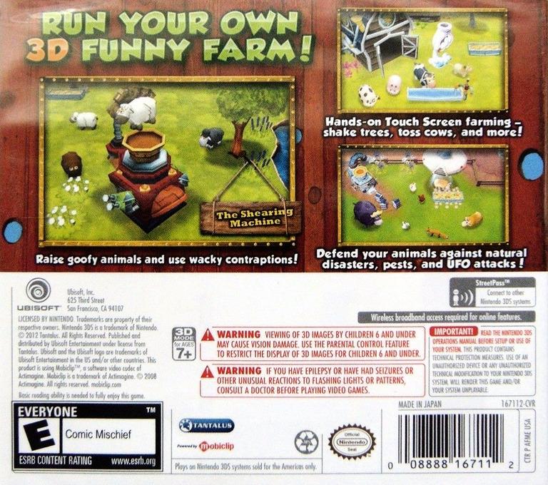 Funky Barn 3D 3DS backHQ (AFME)
