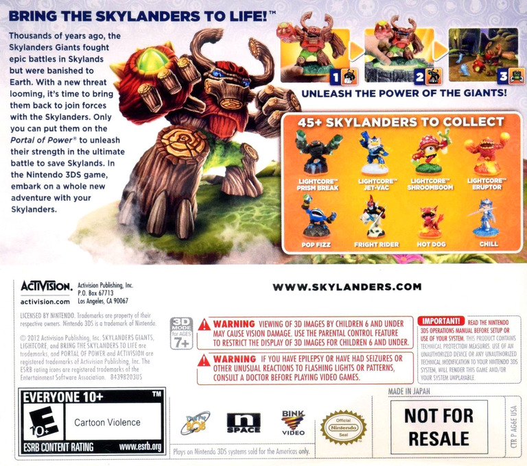 Skylanders Giants 3DS backHQ (AG6E)