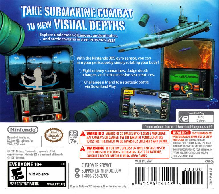 Steel Diver 3DS backHQ (ASDE)