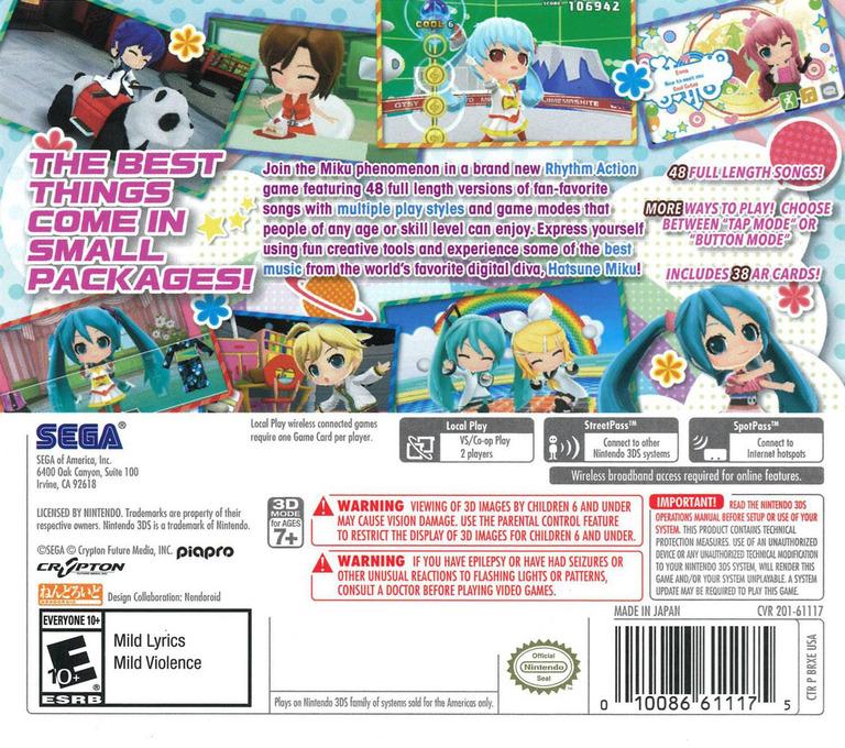 Hatsune Miku - Project Mirai DX 3DS backHQ (BRXE)