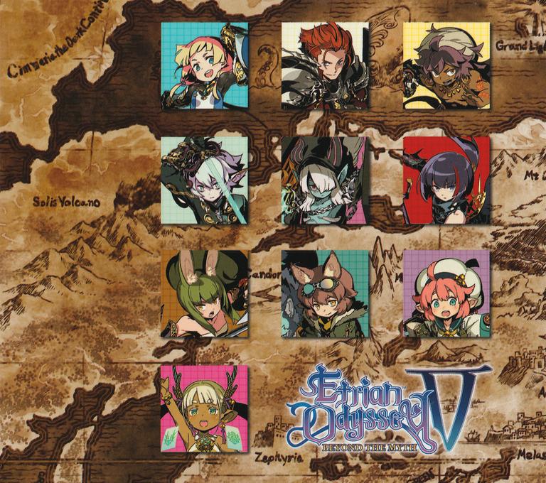 Etrian Odyssey V: Beyond the Myth 3DS backHQ2 (BMZE)