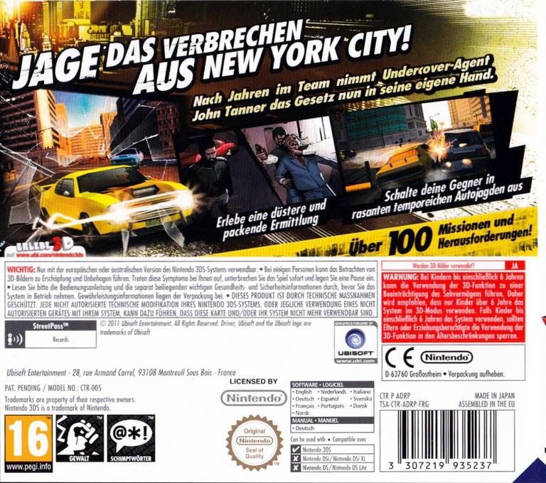 3DS backHQB (ADRP)