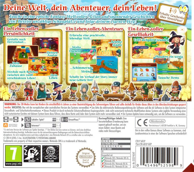 3DS backHQB (AFLP)