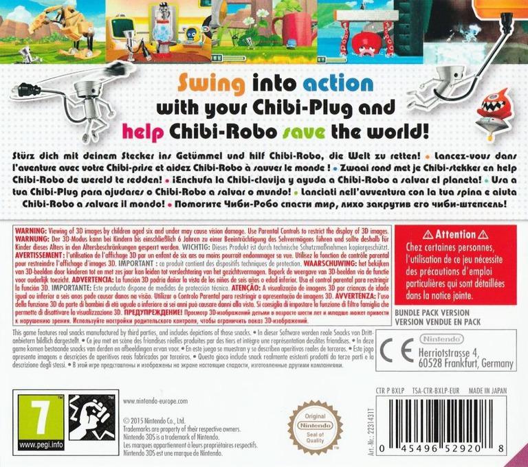 Chibi-Robo! Zip Lash 3DS backHQB (BXLP)