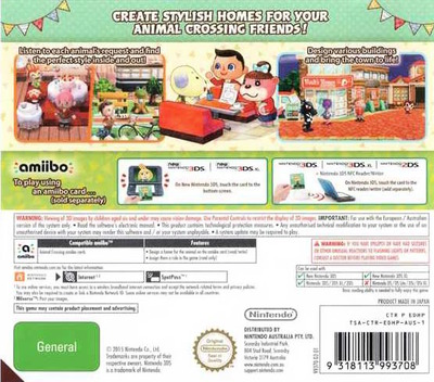 Animal Crossing - Happy Home Designer 3DS backM (EDHP)