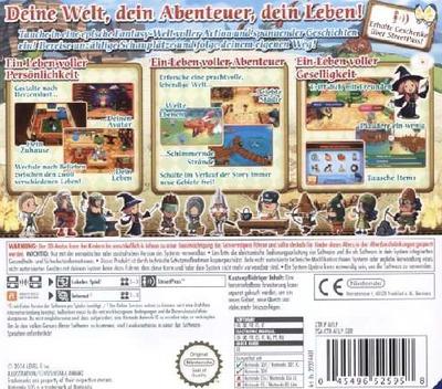 3DS backM (AFLP)