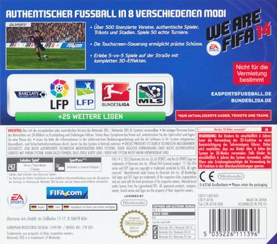 3DS backM (AFYD)
