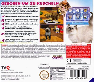 Meine ersten Katzenbabys 2 3DS backM (AP6P)