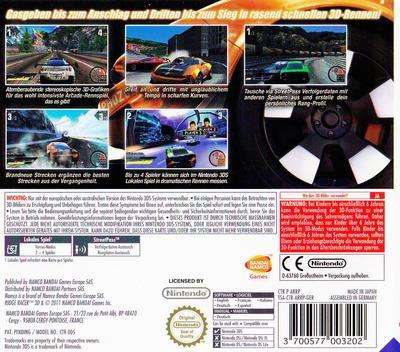 3DS backM (ARRP)