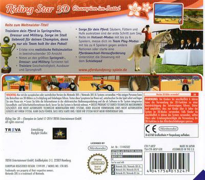 Riding Star 3D - Champion im Sattel 3DS backM (ARSP)