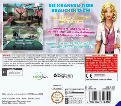 3DS backM (AZFP)