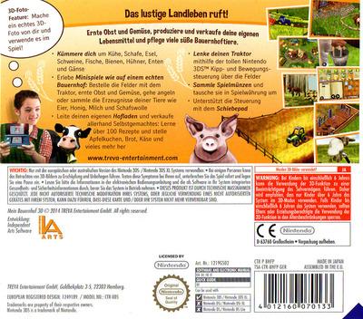 Mein Bauernhof 3D 3DS backM (BHFP)