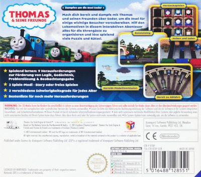 Thomas & Seine Freunde - Dampfen um die Insel Sodor 3DS backM (BTBP)