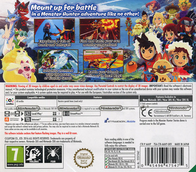 Monster Hunter Stories 3DS backM (AAHP)
