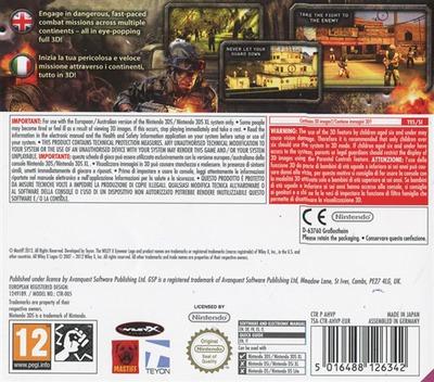 Heavy Fire - The Chosen Few 3D 3DS backM (AHVP)