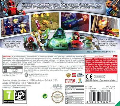 LEGO Marvel Super Heroes - Universe in Peril 3DS backM (AL5P)