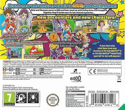 Yo-Kai Watch 3 3DS backM (ALZP)