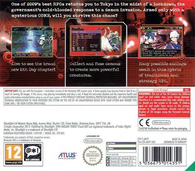 Shin Megami Tensei - Devil Survivor Overclocked 3DS backM (AMTP)