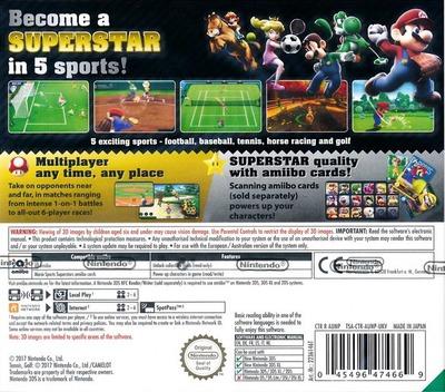 Mario Sports Superstars 3DS backM (AUNP)