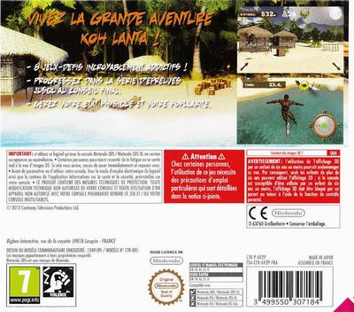 Survivor 3D - The Ultimate Adventure 3DS backM (AV2P)