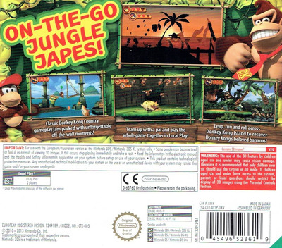 Donkey Kong Country Returns 3D 3DS backM (AYTP)