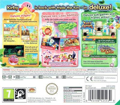 Kirby - Triple Deluxe 3DS backM (BALP)