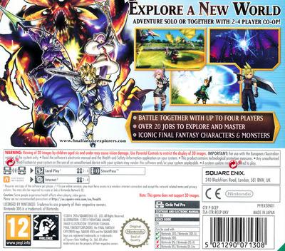 Final Fantasy Explorers 3DS backM (BCEP)