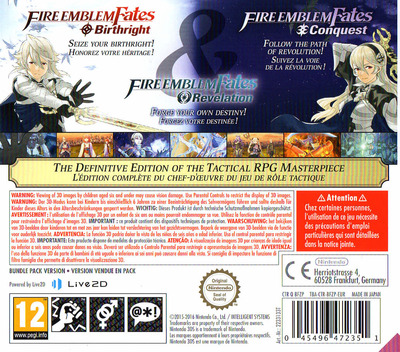 Fire Emblem Fates 3DS backM (BFZP)