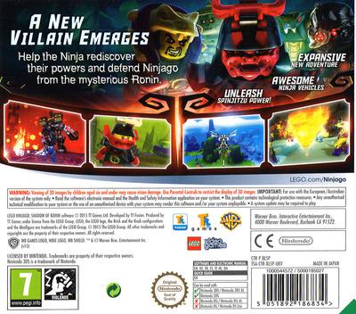 LEGO Ninjago - Shadow of Ronin 3DS backM (BLSP)