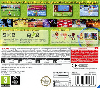 3DS backM (AGAP)