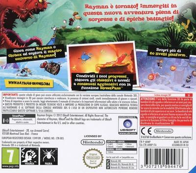 3DS backM (ARMP)
