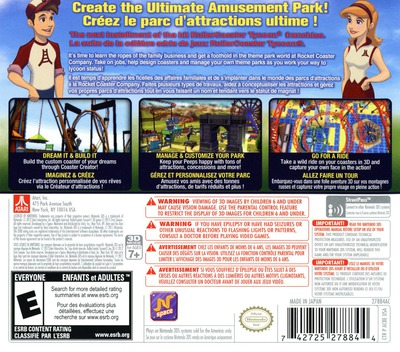 RollerCoaster Tycoon 3D 3DS backM (AC8E)