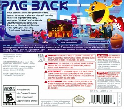Pac-Man and the Ghostly Adventures 3DS backM (AEJE)