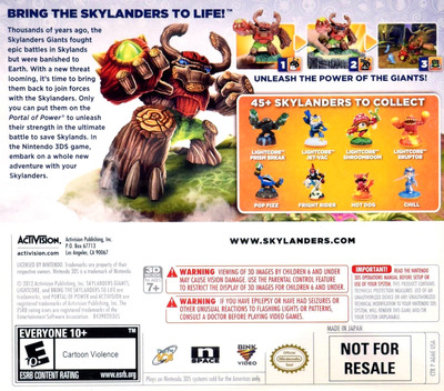 Skylanders Giants 3DS backM (AG6E)