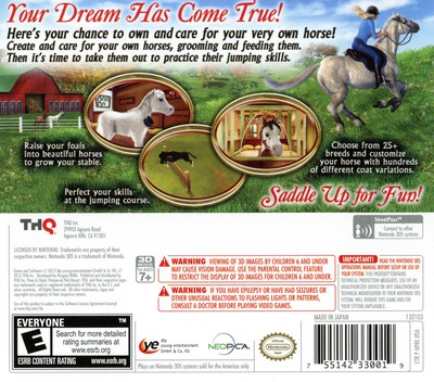 Let's Ride! Best in Breed 3D 3DS backM (ALDE)