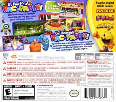 Pac-Man Party 3D 3DS backM (AP9E)