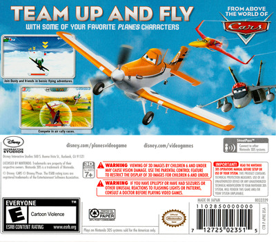 Disney Planes 3DS backM (APNE)